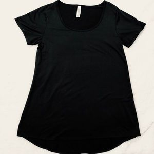 Lularoe Black High Low Top Size XS